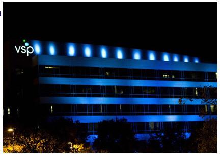 vsp-headquarters-turns-blue