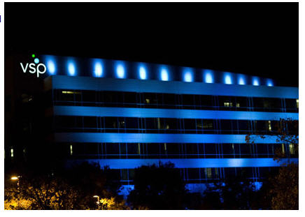 vsp-headquarters-turns-blue